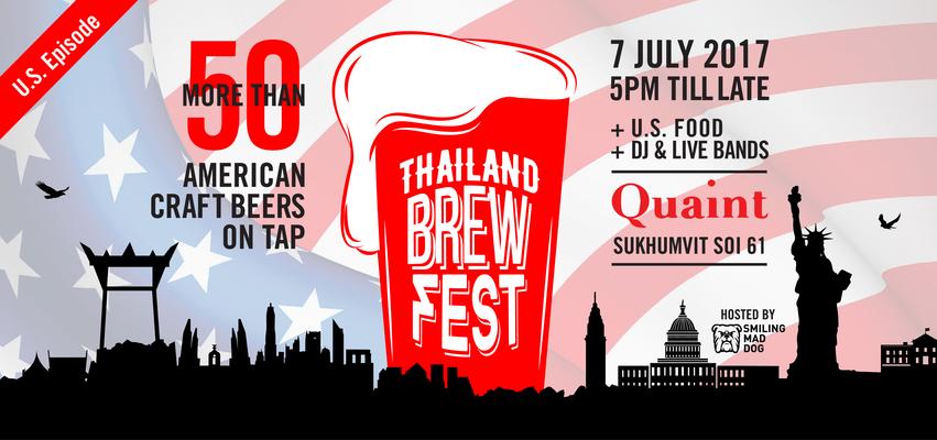 Thailand brew fest 2017