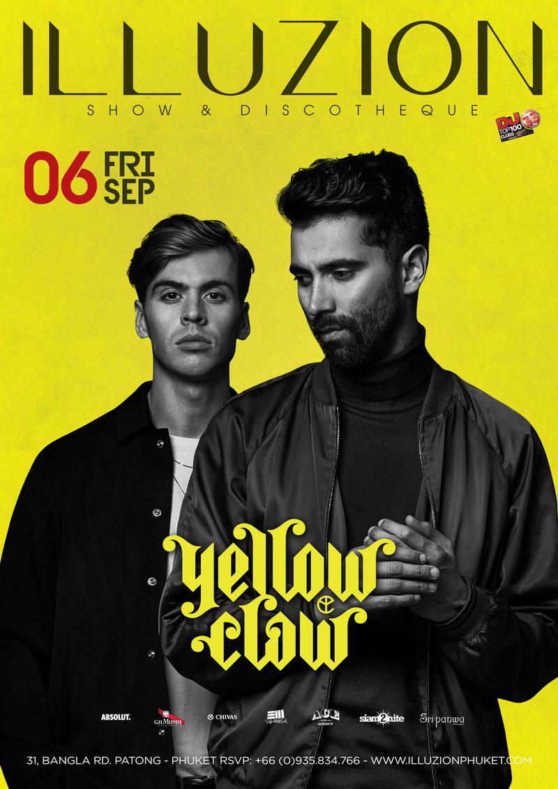 2019 09 06 yellow claw poster