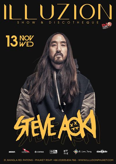 2019 11 13 steve aoki poster