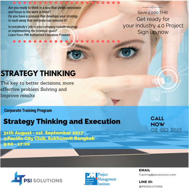 Strategy thinking and execution 4