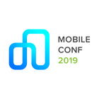 Mobile conf logo square white