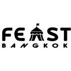Feast logo black